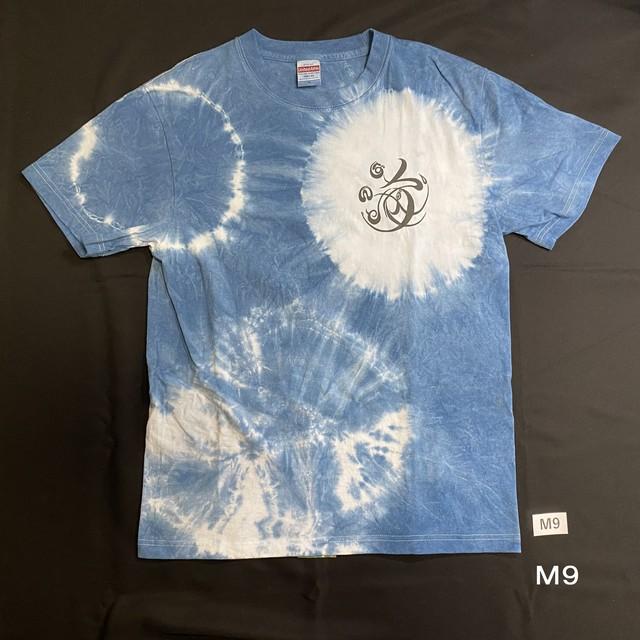 こころMoji×藍染Tシャツ(M9)