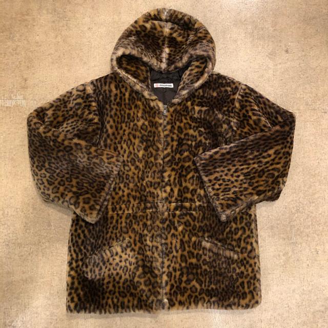 Leopard Fake Fur Jacket ¥9,800+tax