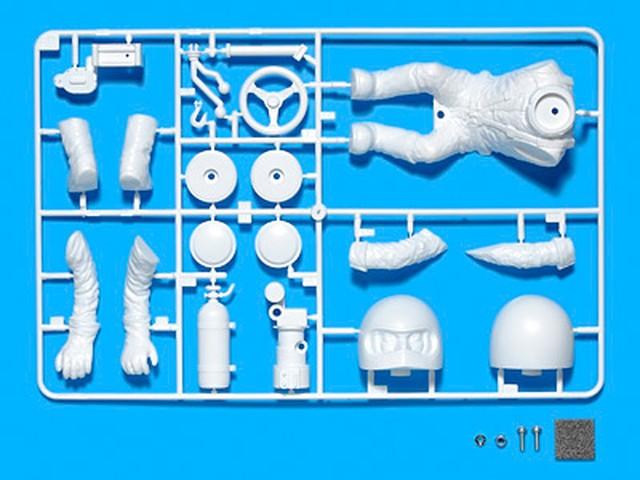 タミヤ OP.1496 WR-02 ドライバー人形セット (全身タイプ)
