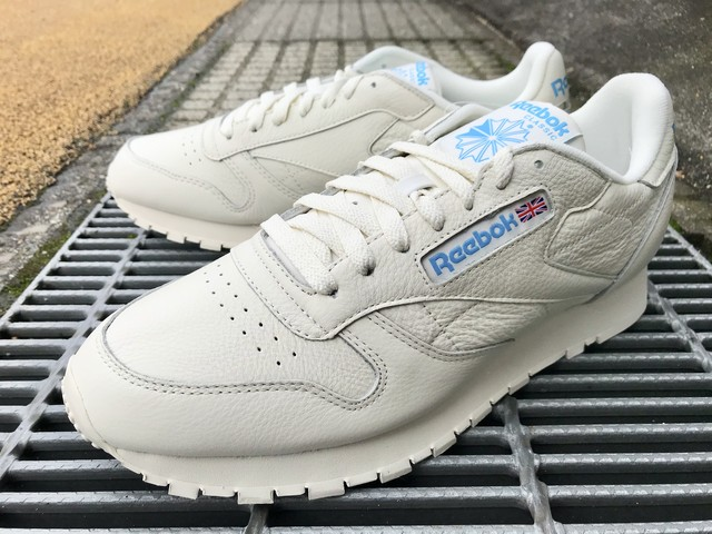 REEBOK CLASSIC LEATHER MU (CHALK/PAPERWHITE/CYAN)