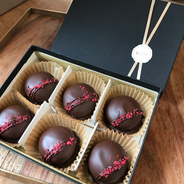 バーチ・ディ・ダーマ アーモンド×ビターチョコレート(イタリア)【6個入り】