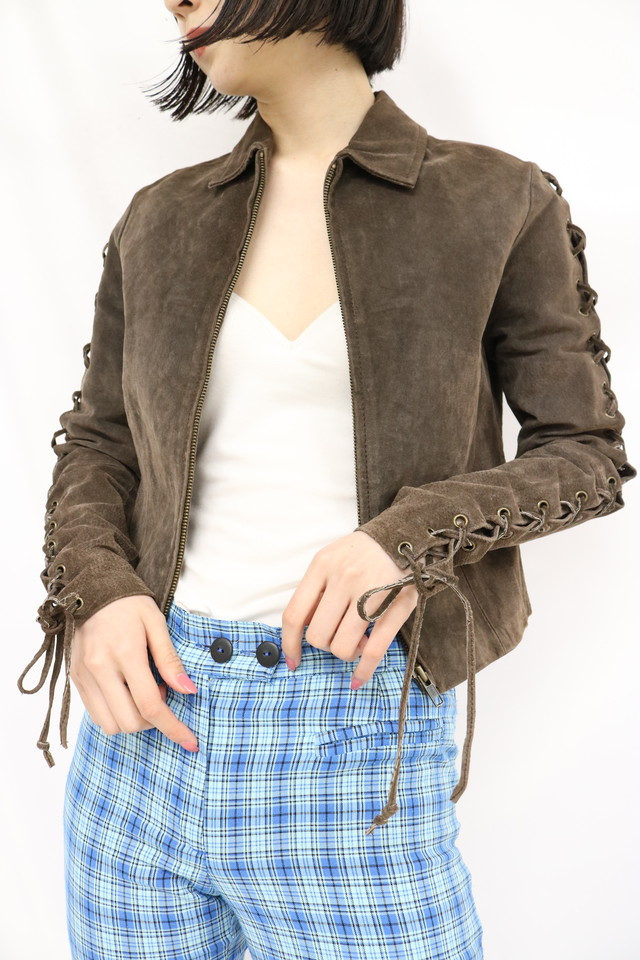 leather jacket / 5SSOU03-05