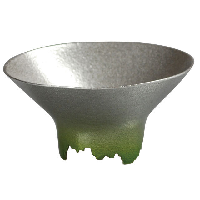 SHIKICOLORS Pale green Sake Cup