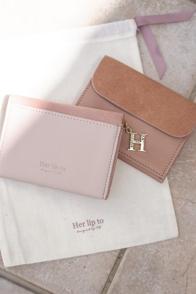 Cherry Printed Mini Wallet