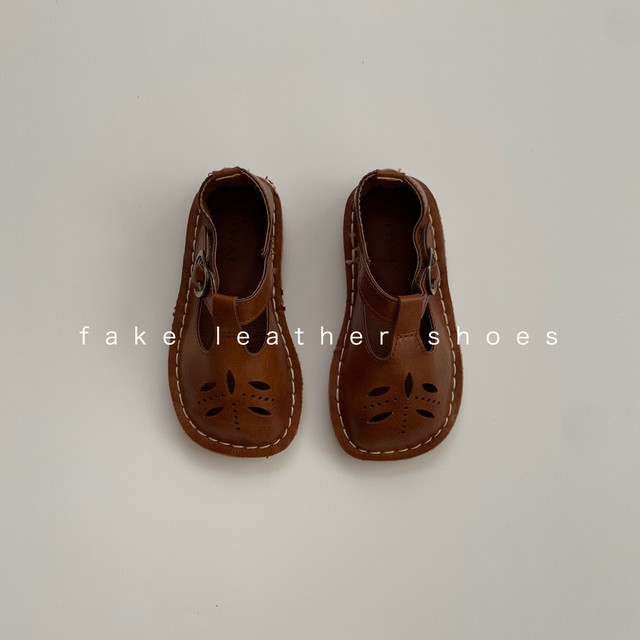 590. fake leather shoes