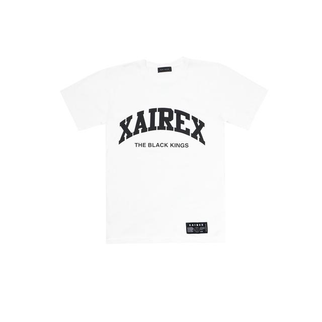 """XAIREX ARCH LOGO TEE""""WHITE""""[XAI-72]"""