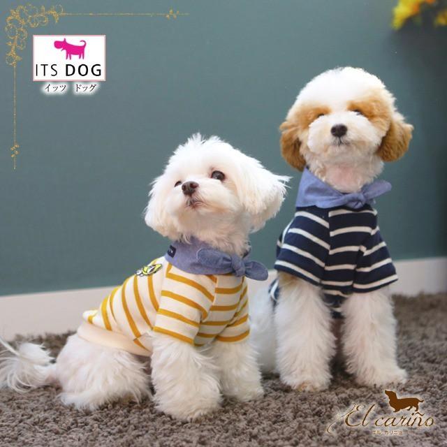 10。ITSDOG【正規輸入】犬 服 シャツ 袖あり オーガニック 襟 秋 冬物