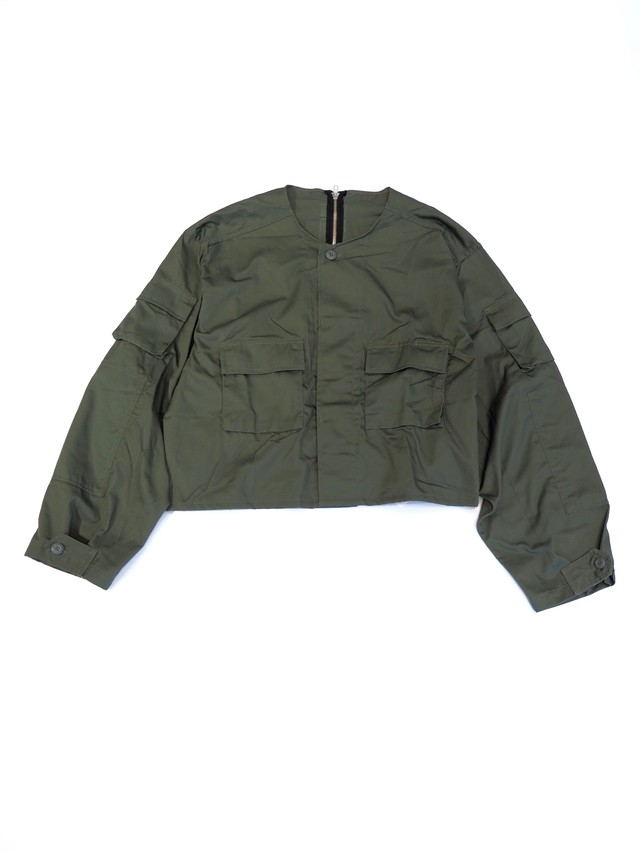 【BONUM】MILITARY SHORT JACKET