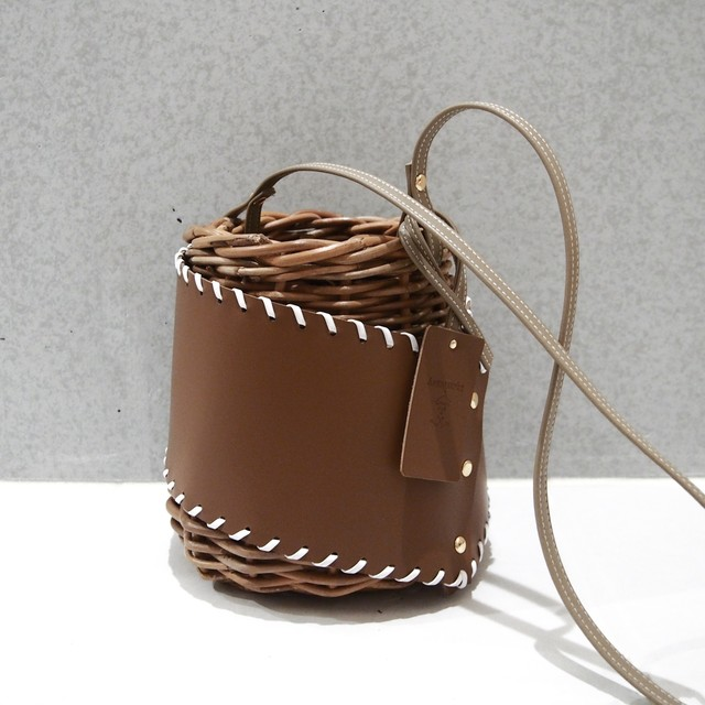 [ 20SS Collection ]  Protect stitch Basket  #Brown