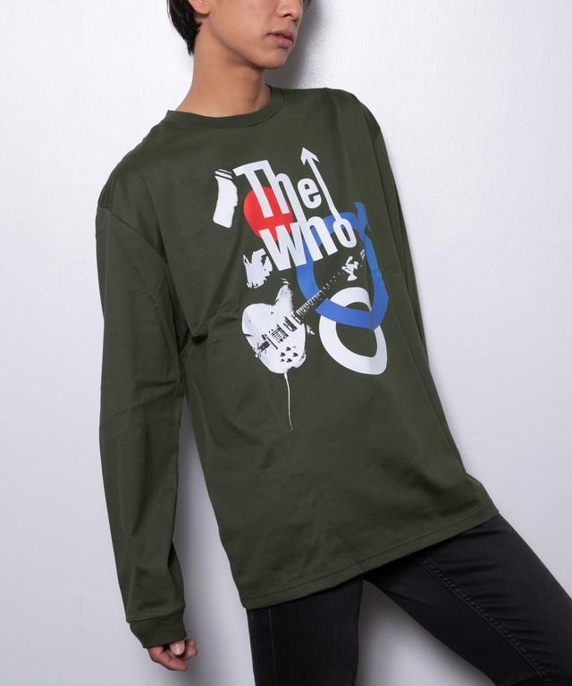 THE WHO(ザ・フー)ロングスリーブTシャツ