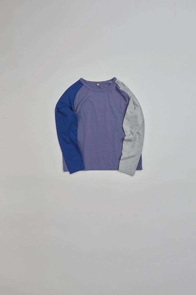 カラーミックスロングスリーブTシャツ / COLOR MIX LONG SLEEVE T-SHIRT