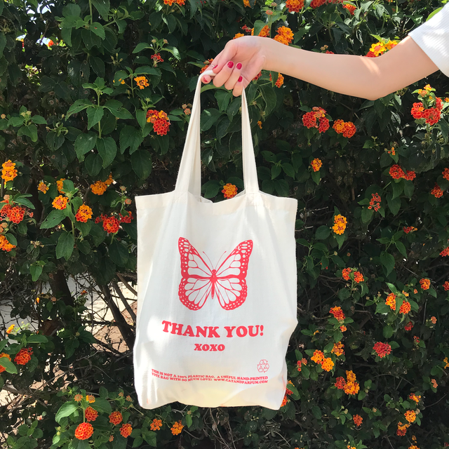 Thank you Canvas Bag