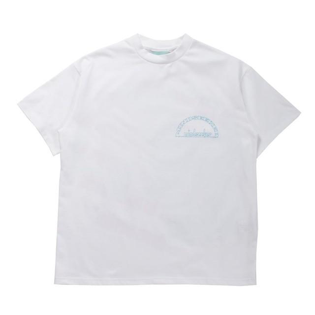 MINDSEEKER Split Sky T-shirt White