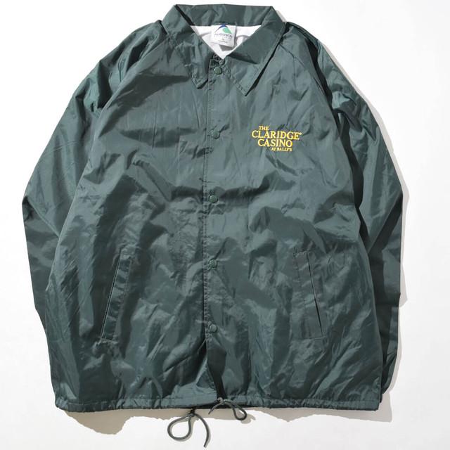 【XLサイズ】THE CLARIDGE クラリッジ CASINOCOACH JACKET コーチジャケット GRN グリーン XL 400610200246