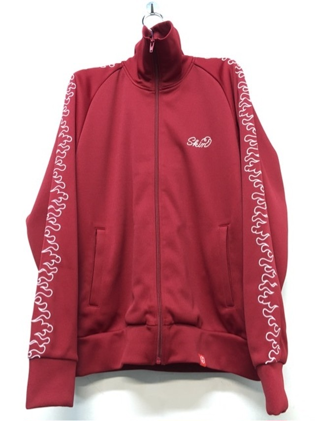 SKIN / fire track jacket(red) - メイン画像