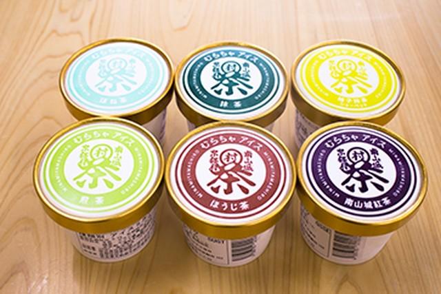 南山城村のお茶アイス6種類セット(送料無料)
