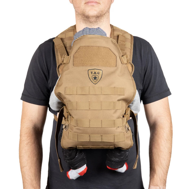 TBG TACTICAL BABY CARRIER™【TACTICAL BABY GEAR】 ミリタリー アーミー 迷彩 抱っこ紐