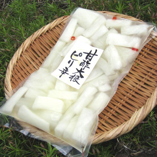 甘酢大根ピリ辛 350g(要冷蔵)