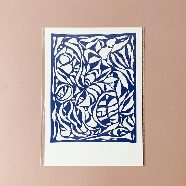 STILLBEN - A5 アートプリント/ポスター - LAELIA BLUE by HEIN STUDIO