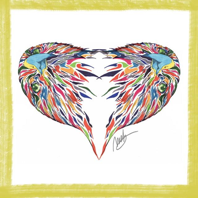 絵画 インテリア アートパネル 雑貨 壁掛け 置物 おしゃれ イヌワシ 動物 現代アート ロココロ 画家 : nob 作品 : berkut / nob