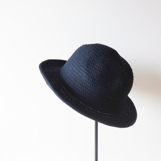 石田製帽 - Andy The Hatter インディゴ染めコットンブレードハット - Indigo Blue