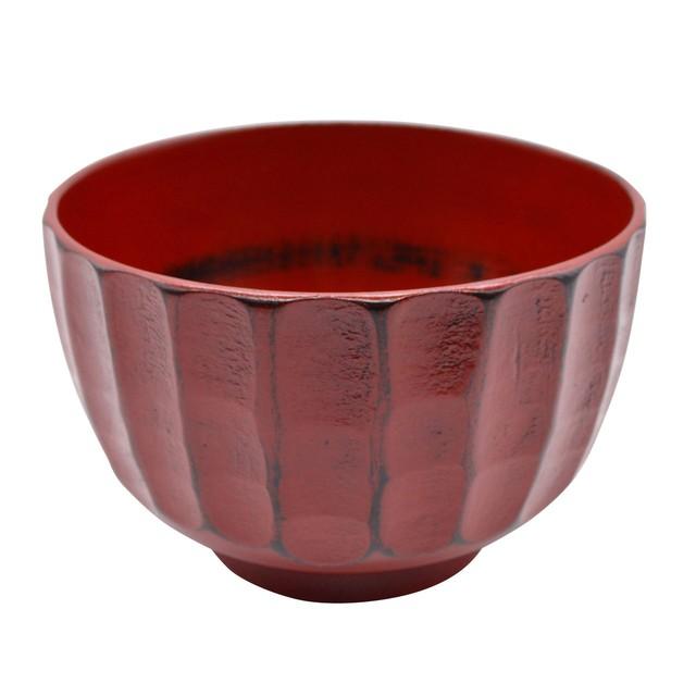 紀州漆器 角田清兵衛商店 ナノコート 食洗機可 かまくら 汁椀 大 約13cm 根来