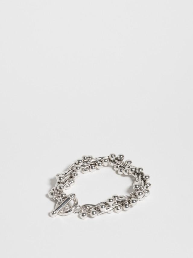 Silver Ball Bracelet / Mexico