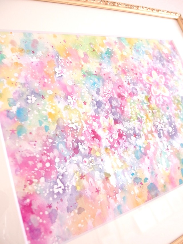 ◯  Blooming river    { 水彩画 ART }