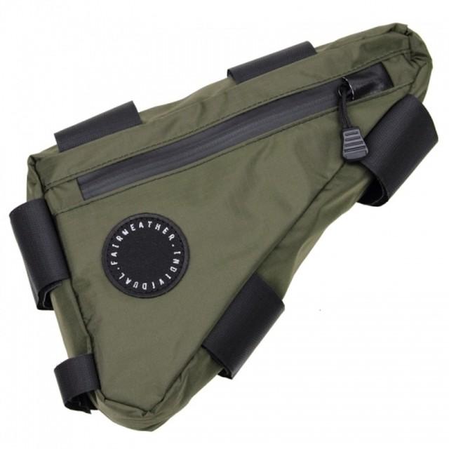 FAIRWEATHER  corner bag(オリーブ)フェアウェザー コーナーバッグ
