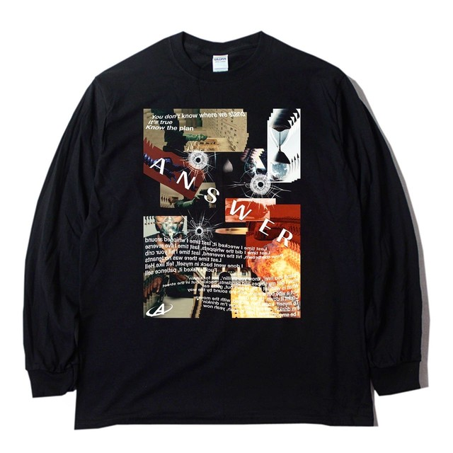 ANSWER COLLECTION /  THE PLAN L/S TEE