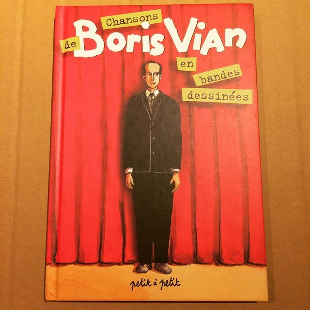 ボリス・ヴィアン バンド・デシネ「Chansons de Boris Vian en bandes dessinées」 - メイン画像