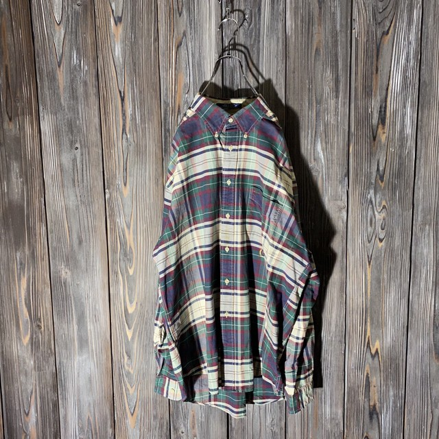 [TOMMY]cute check  shirt