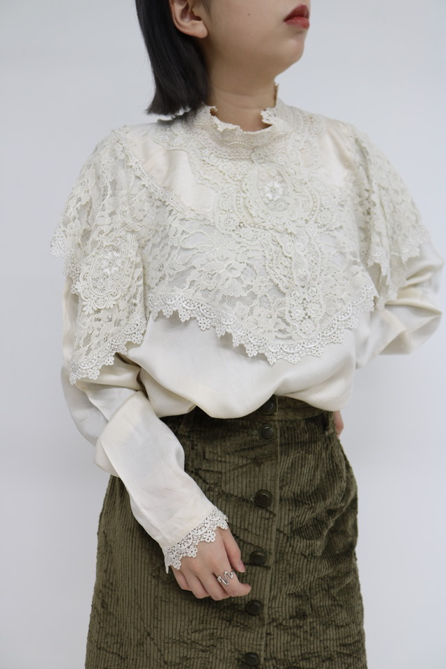 lace blouse / BL10290012