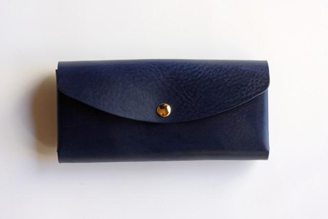 ※完売※◆オールド イングランド_ロイヤルブルー◆外装◆おとな財布◆三つ折り