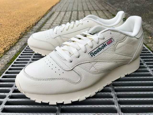 REEBOK CLASSIC LEATHER MU (CHALK/PAPERWHITE/GREEN)