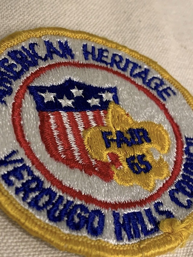 "PATCH "" AMERICAN HERITAGE VERDUGO MILLS COUNCIL """