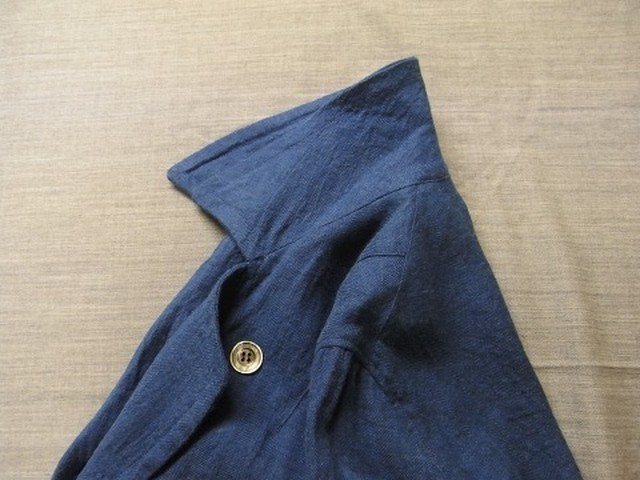 antique duster coat / frenchblue