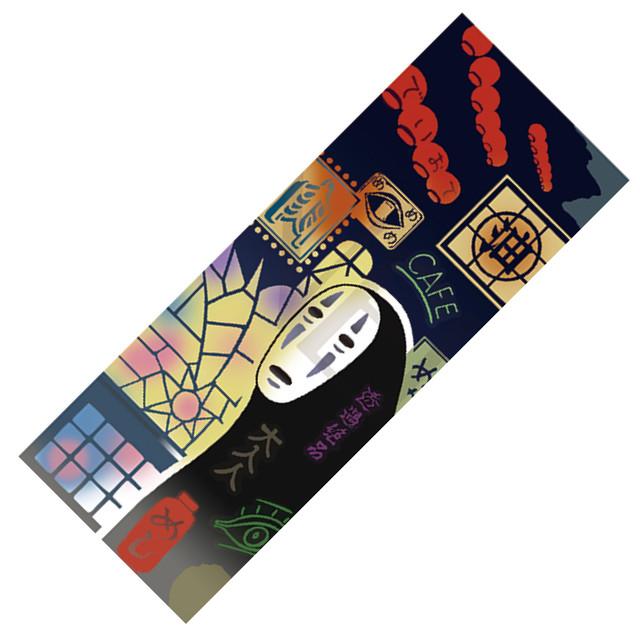 【8月発売予定】 千と千尋の神隠し かまわぬ 手拭い / てぬぐい 匠の手拭い(不思議の町の世界/8977)