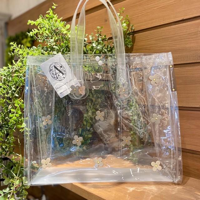 【オンライン限定価格¥4,950→¥3,850】No.222バッグチャーム&パスケース付ランチトートバッグ