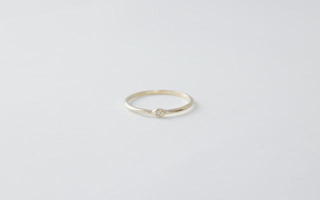 めぐりリング(ダイヤモンド)