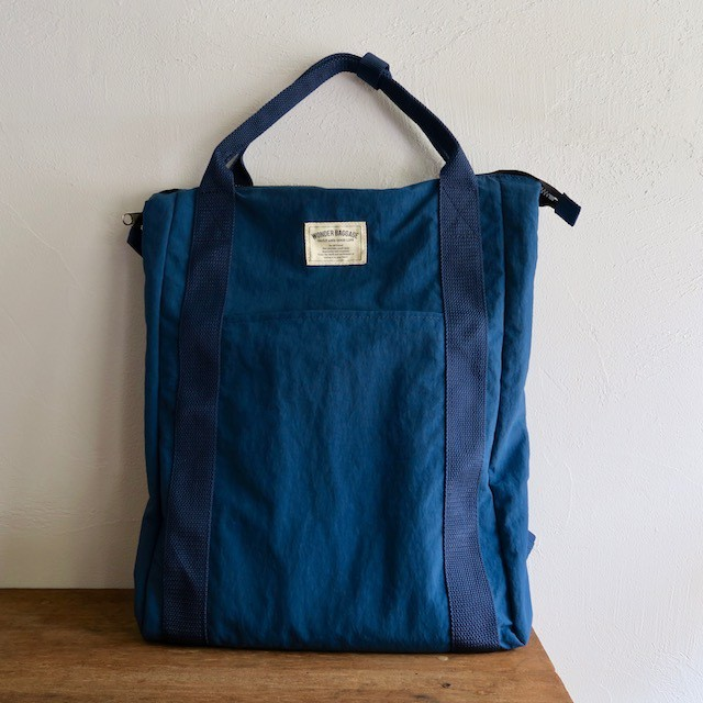 WONDER BAGGAGE RELAX SACKTOTE NAVY