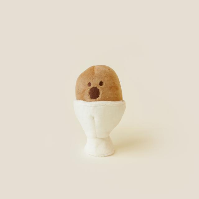 [DINOTAENG] Soft Boiled Quokka Egg ぬいぐるみ