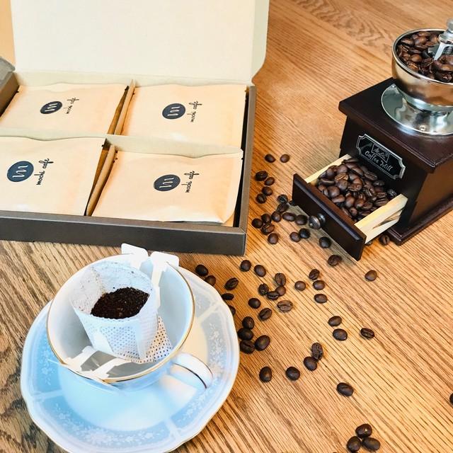 自家焙煎珈琲 ドリップバックコーヒー「デカフェmochiブレンド」1個