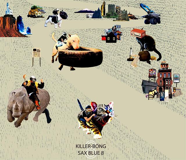 【残りわずか/CD】KILLER-BONG - SAX BLUE 8