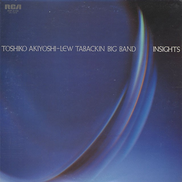 Toshiko Akiyoshi-Lew Tabackin Big Band / Insights (LP) Orig.