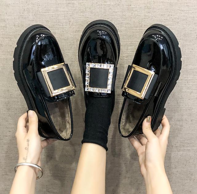 レディース革靴  カジュアルシューズ SHS370701