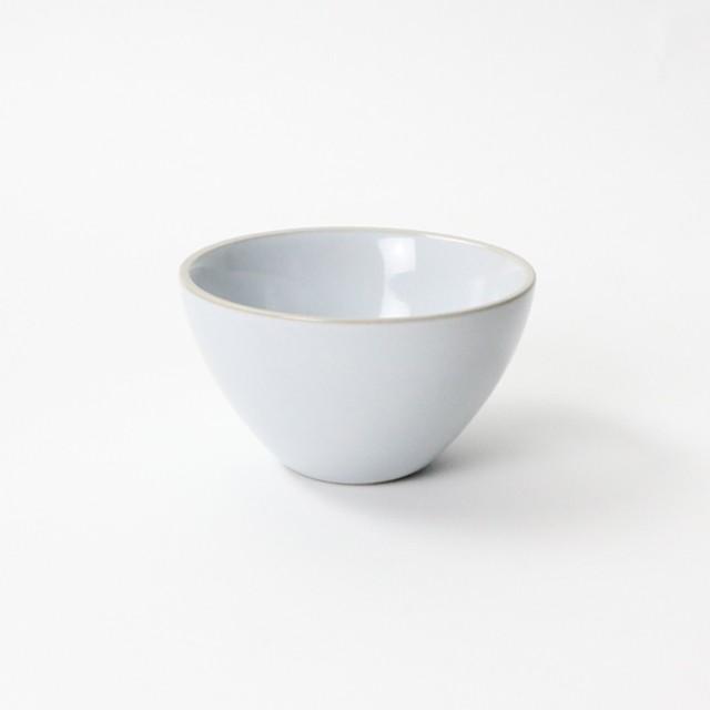 【SL-0093】*美濃焼*  磁器 20cm 粉引しのぎ浅鉢