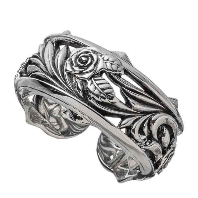 ローズカフリング AKR0060 Rose cuff ring