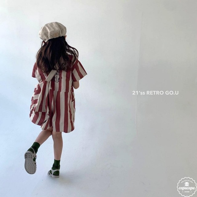 «予約» go.u retro jumpsuit レトロジャンパースーツ