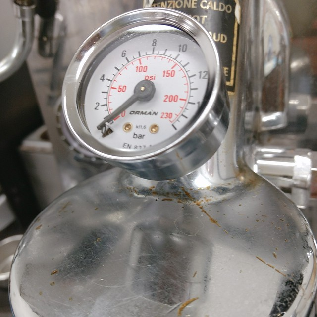 圧力計● E61グループヘッド プレッシャーゲージ